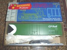 Roundhouse HO #1263 (Road #80179) Canadian Pacific Plug Door 50' Box Car Kit
