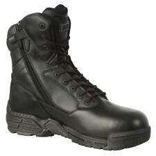 """Magnum 55341 Stealth Force 8"""" CT CP Side Zip Unisex Boot Textile Leather Lace Up"""
