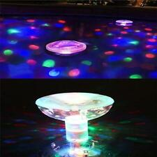 Floating Underwater Led Aquarium Light  Swimming Pool Disco Pub Home Bath Xmas