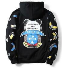 2016 Unisex Hipanda Hip-hop Cartoon Cute Baby Outwear Hoodie Sweatshirt Jacket