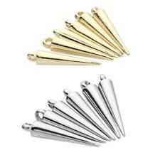 Jewelry Findings Accessories Pendant Charms Spearhead Shape