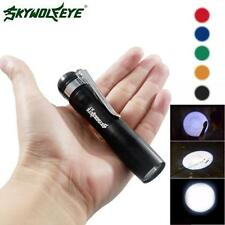 CREE XPE-R3 LED 250LM Lamp Clip Mini Penlight Flashlight Torch AAA Light