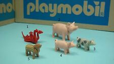 Playmobil Zoo safari Farm animal Pig baby Serpent mini CHOOSE one geobra 123