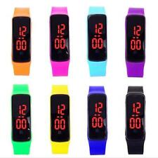 Girls / Boys LED Silicone Touch Screen Ultra Thin Jelly DigiFAl Sports Watch DG