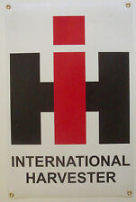 International Harvester Farming Tractor small banner 11x17 with grommets