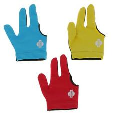 Professional Lycra 3 Finger Right Hand Snooker Billiard Table Cue Pool Glove