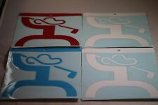 """HOOey GOLF Stickers/Decals Multi-Colors your choice Large 6.5"""" X 6.5"""" HTF Rare"""