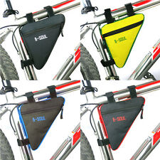 Bycicle Frame Pack Pannier Front Tube Bag Cycling Bike Frame Pack Triangle OZ