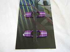 """OAKLEY BATWOLF REPLACEMENT """"O"""" ICONS PURPLE PLAID LOGO *AUTHENTIC* 08-029"""