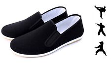 Kung Fu Shoes with Rubber Sole Sailing Sheet Slippers Tai Chi Martial Arts 36-45
