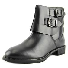 29 Porter Rd Morrigan Double Buckle Bootie   Round Toe Leather  Ankle Boot