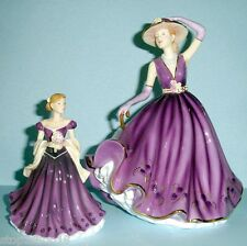 Royal Doulton EMMA & ERIN 2 Pretty Ladies Figurines Hand Signed HN5426 New