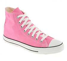 Converse Converse All Star Hi PINK CANVAS Trainers Shoes