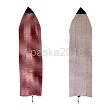 "6'0"" 7'0"" SURFBOARD SHORTBOARD STRETCH TERRY SOCK COVER TRAVEL PROTECTIVE BAG"