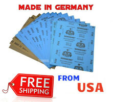 SANDING SHEETS Wet/Dry Silicon Carbide Waterproof Sandpaper Grits 9x11 5.5X9 USA