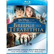 BRIDGE TO TERABITHIA (Blu-ray, 2007) NEW SEALED