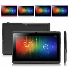"""iRULU Mulit-color Tablet PC 7"""" Android 4.4 16GB Dual Core Dual Camera WIFI GMS"""