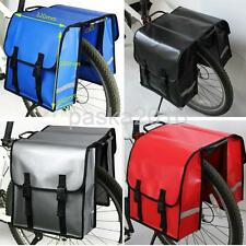 Waterproof Double Panniers Bag Cycle Cycling Bike Bicycle Rear Pannier Basket