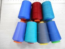 Serger quilting domestic home sewing cone thread approx 10000 yd cones 1-1/4 lbs