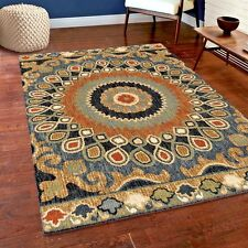 RUGS AREA RUGS 8x10 AREA RUG CARPET MODERN LARGE COLORFUL COOL FLOOR SOFT RUGS ~