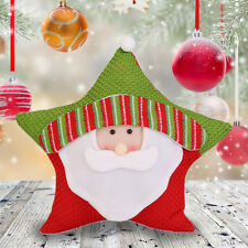 Christmas Candy Five-star Pillow Holiday Decorations Commodity For Christmas JS
