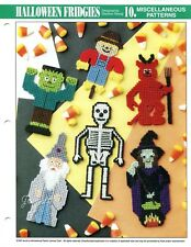 Halloween Fridgies ~ 6 Character Magnets Motifs, Annie's plastic canvas patterns