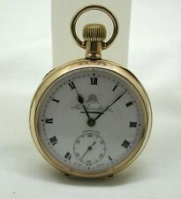 Vintage Thomas Russell & Son Gold Filled Pocket Watch In Lovely Order