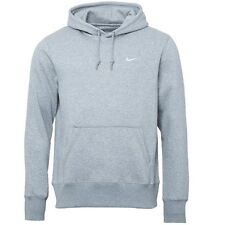 Nike Mens Fundamental Fleece Hoody Medium Grey Heather