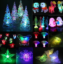 COOL 7 Colors Changing LED Night Light Decoration Candle Lamp Nightlight holiday