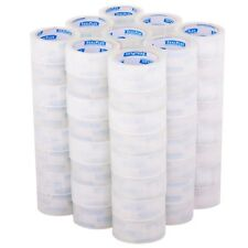 "18/36/72 Rolls-2""x110 Yards(330' ft) Box Carton Sealing Packing Package Tape US"