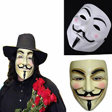 Halloween Masks V for Vendetta Mask Guy Fawkes Anonymous fancy dress costume Hot