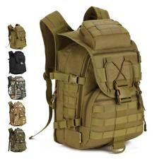 40L Outdoor Tactical Molle Military Rucksack Backpack Travel Camping Laptop Bag
