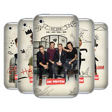 OFFICIAL ONE DIRECTION PHOTO DOODLE HARD BACK CASE FOR APPLE iPHONE 3G / 3GS