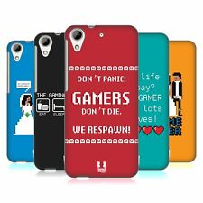 HEAD CASE DESIGNS A GAMER'S LIFE HARD BACK CASE FOR HTC DESIRE 626