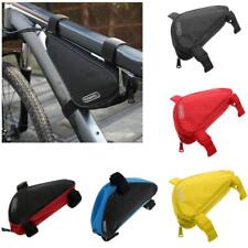 1x Universal Bicycle Bike Cycling Triangle Frame Front Tube Bag Storage Pouch
