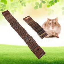 New Wood Flexible Climbing Swing Gerbil Hamster Chew Toys Ladder Bridge Stair