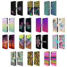 HEAD CASE DESIGNS TREND MIX LEATHER BOOK WALLET CASE COVER FOR HTC DESIRE 820