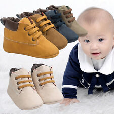 Baby Shoes Toddler Boys Girl Martin Boots Children Fall Winter Pre-walker Shoes