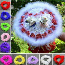 2M Fluffy Feather Boa Flower Craft For Party Wedding Dress Up Costume Decor Top