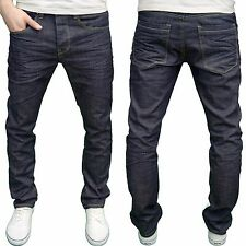 Eto Mens Designer Branded Dark Wash Regular Fit Straight Leg Jeans, BNWT