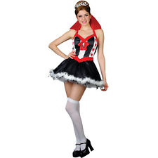 Very Sexy Queen of Hearts Fancy Dress Party Costume