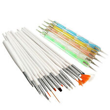 Nail Art Design Set Dotting Painting Drawing Polish Brush Pen Tools Nail Art
