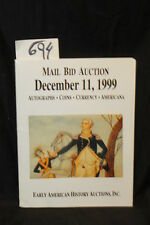 Early American History Auc... Mail Bid Auction: Dece...