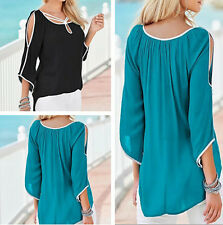 T-Shirt Loose Fashion Short Ladies Summer Casual Tops Women Top Blouse Sleeve