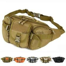 Unisex Tactical Waist Bag Fanny Pack Casual Bag Outdoor Travel Sports Waist Pack