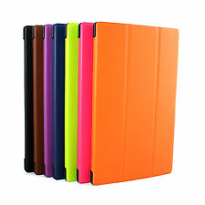"""For Tablet Pc Amazon Kindle Fire Hd 10"""" Folding Faux Leather  Stand Cover Case"""