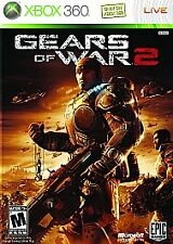 GEARS OF WAR 2 MICROSOFT XBOX 360 GAME COMPLETE, Played once, MINT!