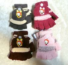 Childrens Toddlers BUNNY Mittens Gloves Baby Winter Cold Weather Boy/Girls New!