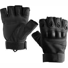 Russian Army Military Tactical Half Finger Gloves «RAGE», Olive, Black, SPLAV