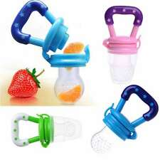 Safe Feeding Pacifier Baby Fresh Food Milk Fruits Feeder Soother Weaning Nipple
